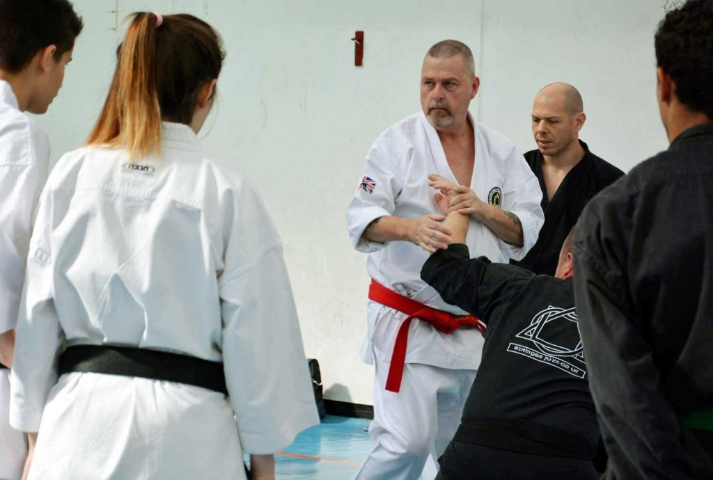 Gary Stringer Soke teaching JUKADO
