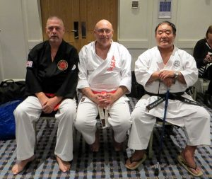 Gary Stringer, Stephen Grayston and Fumio Demura at Kodosai event 2013