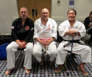 Gary Stringer, Stephen Grayston and Fumio Demura at Kodosai event 2013