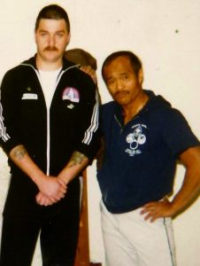 Inosanto and Gary Stringer