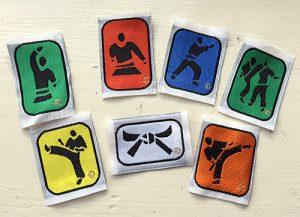 Stringer JUKADO Junior merit badges