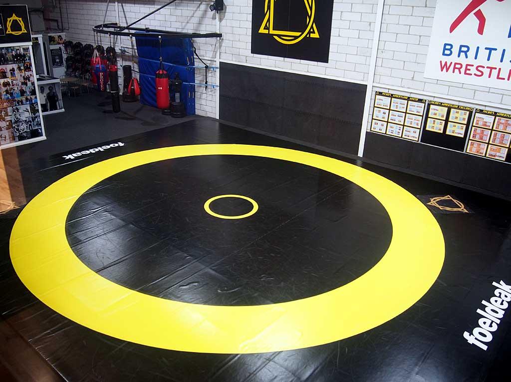 MCSDA Olympic wrestling mat