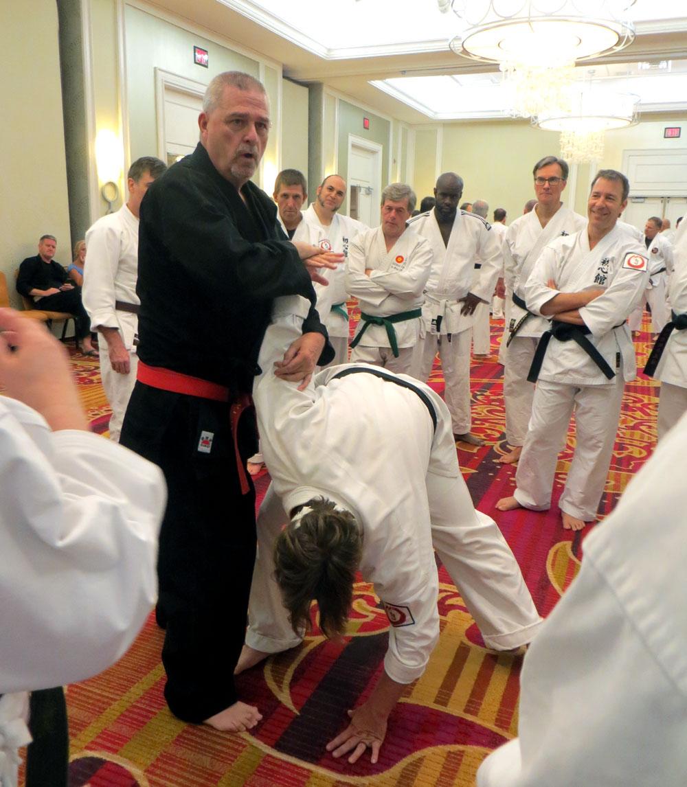 Gary Stringer teaching at 1st Gasshuku in Washington DC