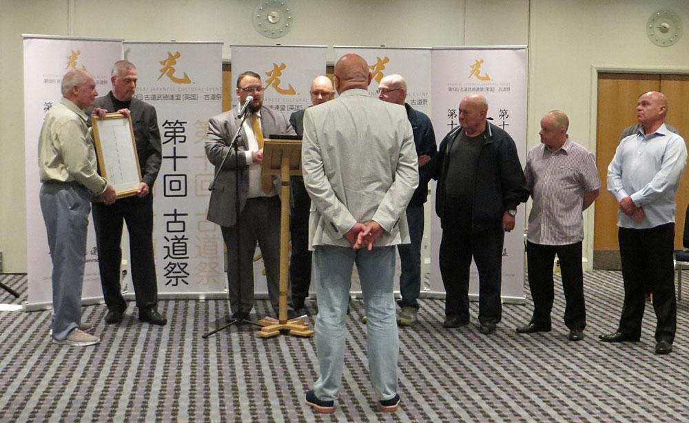Stephen Graystone lifetime award Kodosai 2017